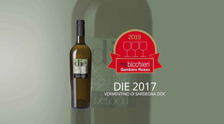 3 Bicchieri Gambero Rosso Award - Die 2017 - Tenute Delogu